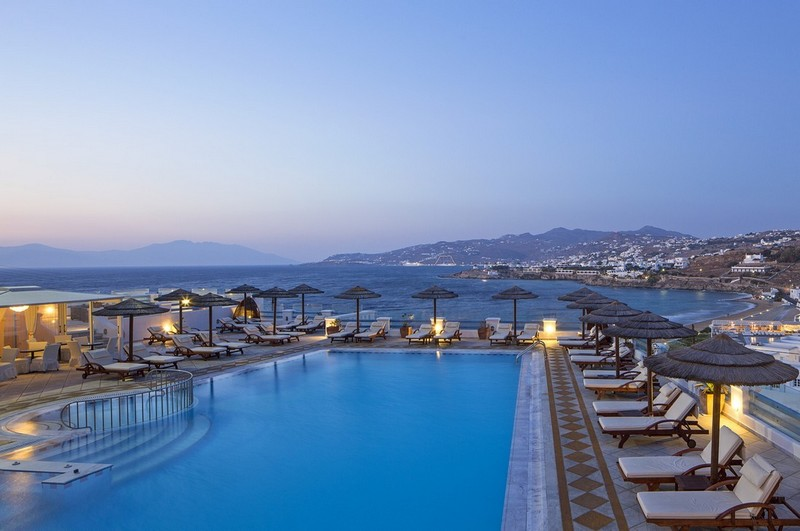 Grand Beach Mykonos Hotel Megali Ammos 84600 Mikonos Greece