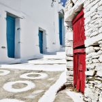 Παναγία Τουρλιανή,  Ano Mera, the one and only village of Mykonos