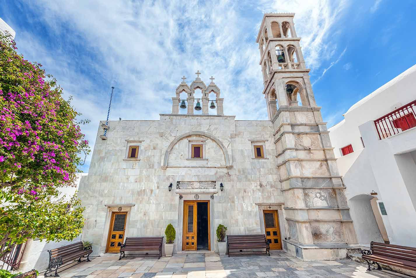 The monastery of Panagia Tourliani in Ano Mera, Mykonos (3)